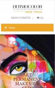 site dermocolor téléphone