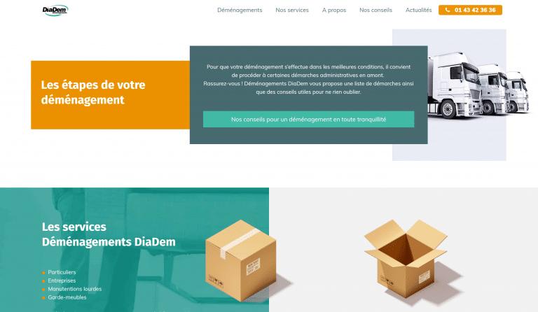Site nouveau DiaDem