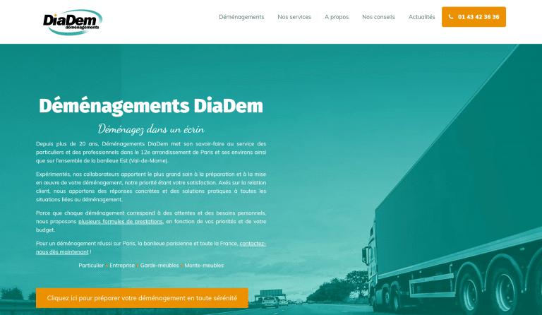 Nouveau site DiaDem