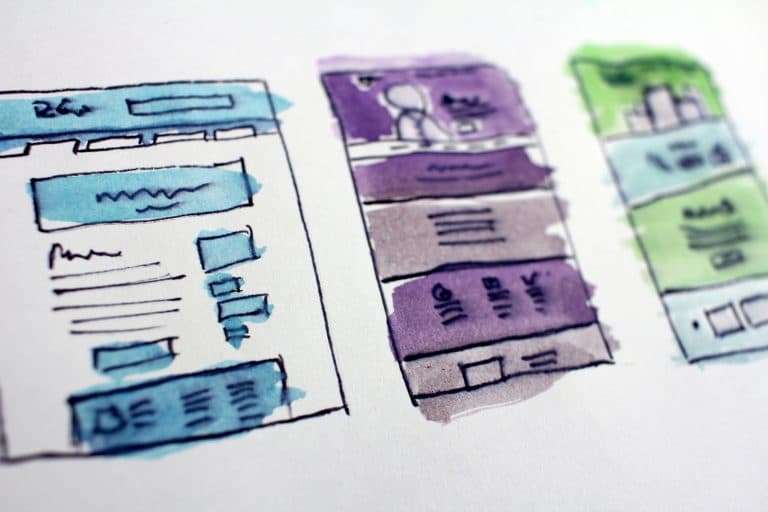 Wireframe Site Web