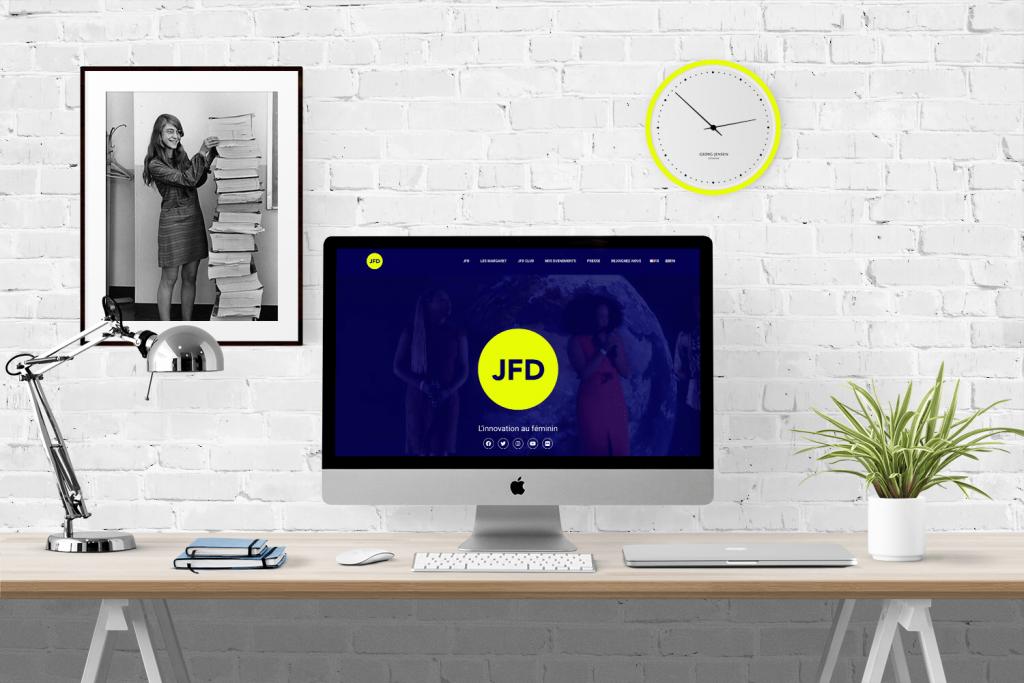 Le portfolio du site JFD